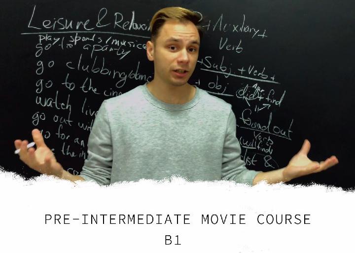 Курс Pre-Intermediate (B1) Для Средних